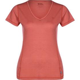 Fjällräven Abisko Cool T-Shirt Donna, rosso